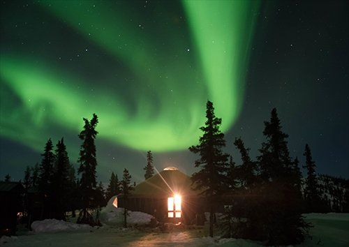 Northern lights display, Black colour - From £17.50 | Metal Plate Pictures