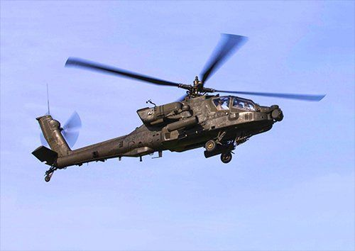 Ah 64 apache aero, Black colour - From £17.50 | Metal Plate Pictures