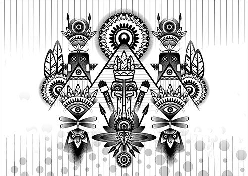 Ancient parade art, Black colour - From £17.50 | Metal Plate Pictures