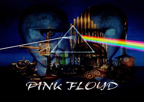 Pink Floyd, Black colour - From £17.50 | Metal Plate Pictures