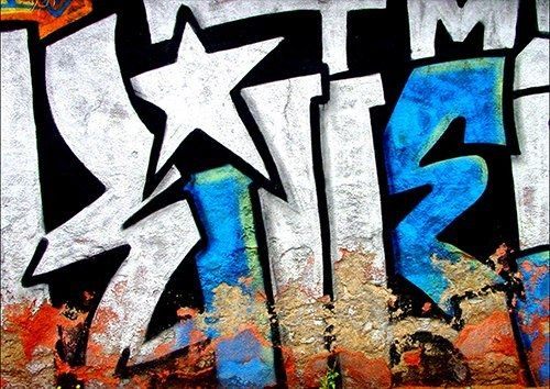 Graffiti tag spain, Black colour - From £17.50 | Metal Plate Pictures