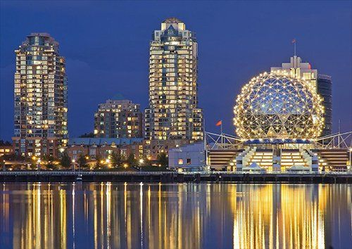 Vancouver british columbia canada, Black colour - From £20.50   Metal Plate Pictures