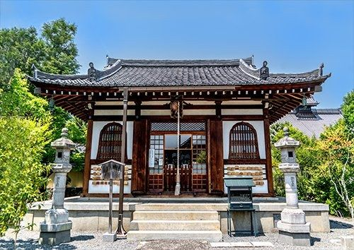 Japan Arashiyama Architecture, Black colour - From £17.50 | Metal Plate Pictures