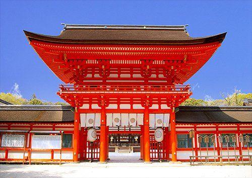 Japan Kyoto Shrine Gate Vermilion, Black colour - From £17.50 | Metal Plate Pictures