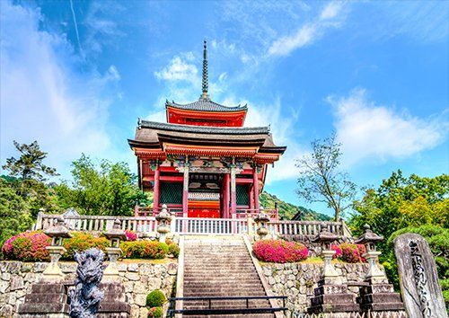 Sensō-Ji Kyoto Japan Temple, Black colour - From £17.50 | Metal Plate Pictures