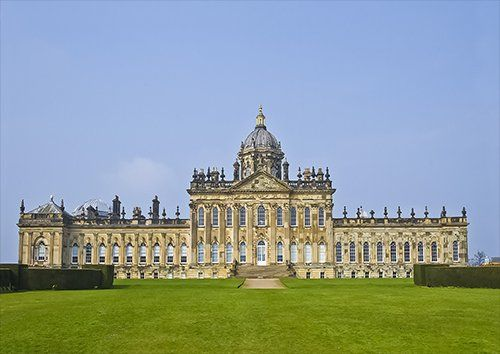 Castle howard, Black colour - From £20.50 | Metal Plate Pictures