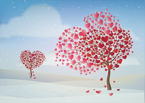 The love trees love, Black colour - From £17.50 | Metal Plate Pictures