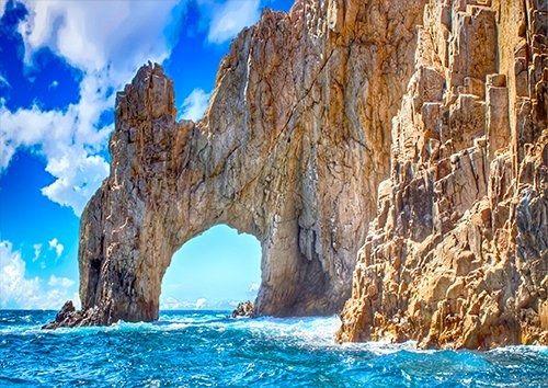 Rocks Ocean blue Seascape, Black colour - From £17.50 | Metal Plate Pictures
