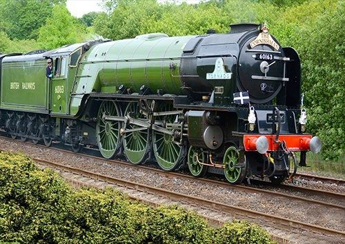 Tornado Steam Locomotive train, Black colour - From £20.50 | Metal Plate Pictures