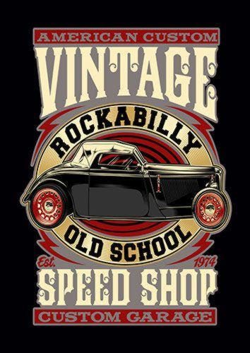 CLASSIC CAR GARAGE nad Metal Plate Pictures Wall Mounted Poster A4 A3 A2 A1