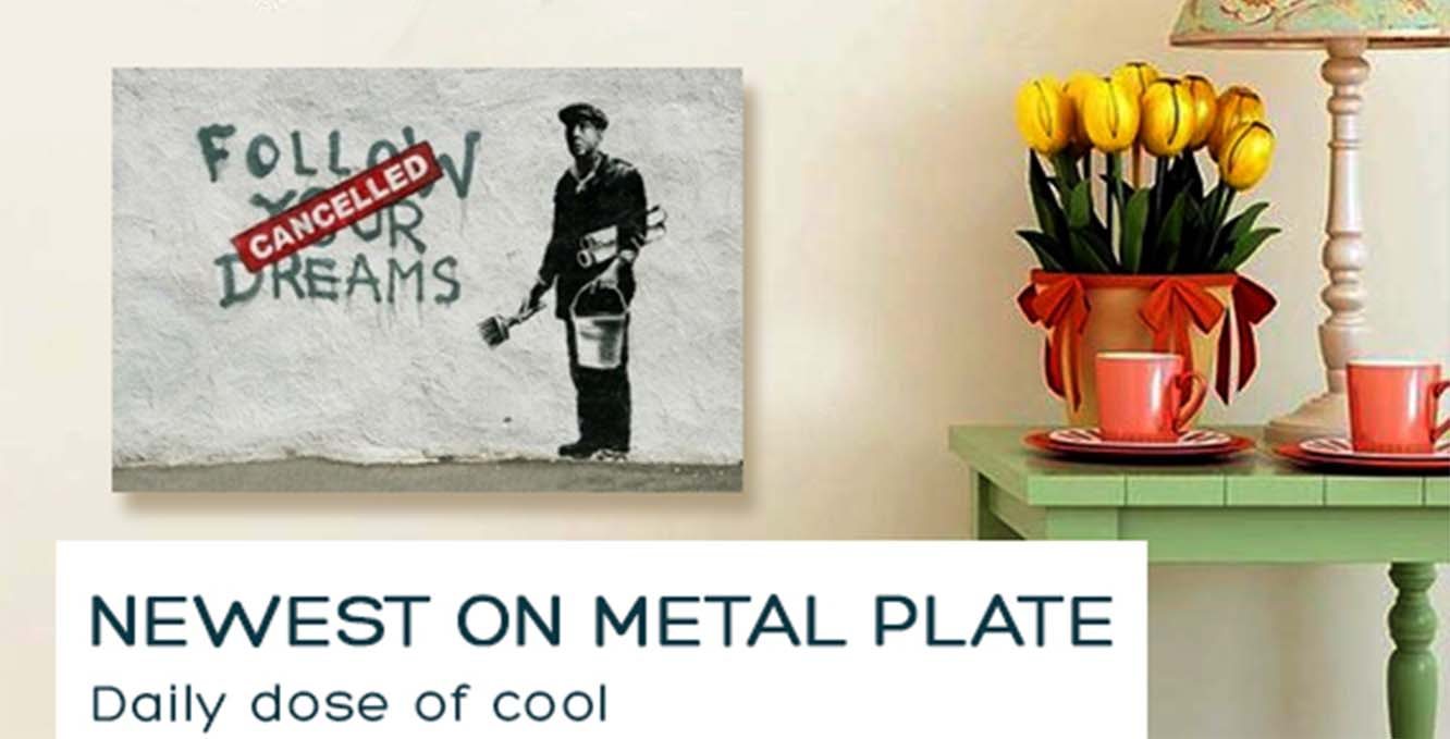 What Is A Metal Plate Picture ?
