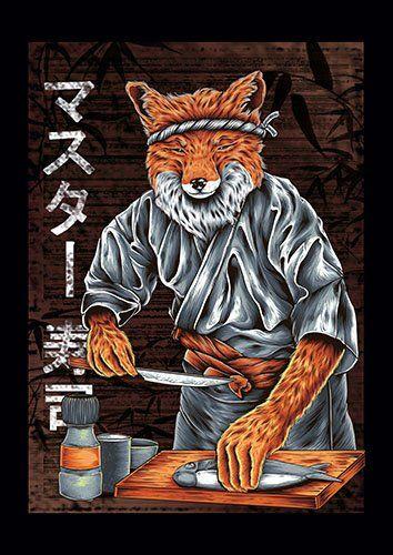 Chef fox make shusi Fs
