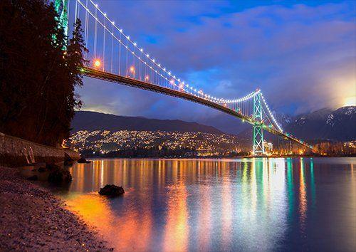 Bc beautiful Bridge landscape