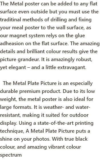 Product Info | Metal Plate Pictures